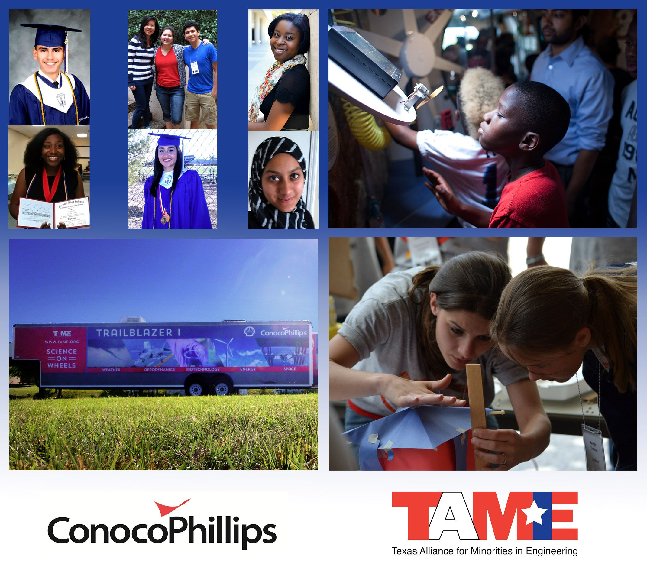 ConocoPhillips Awards Grant to TAME to Help Texas Students Pursue STEM