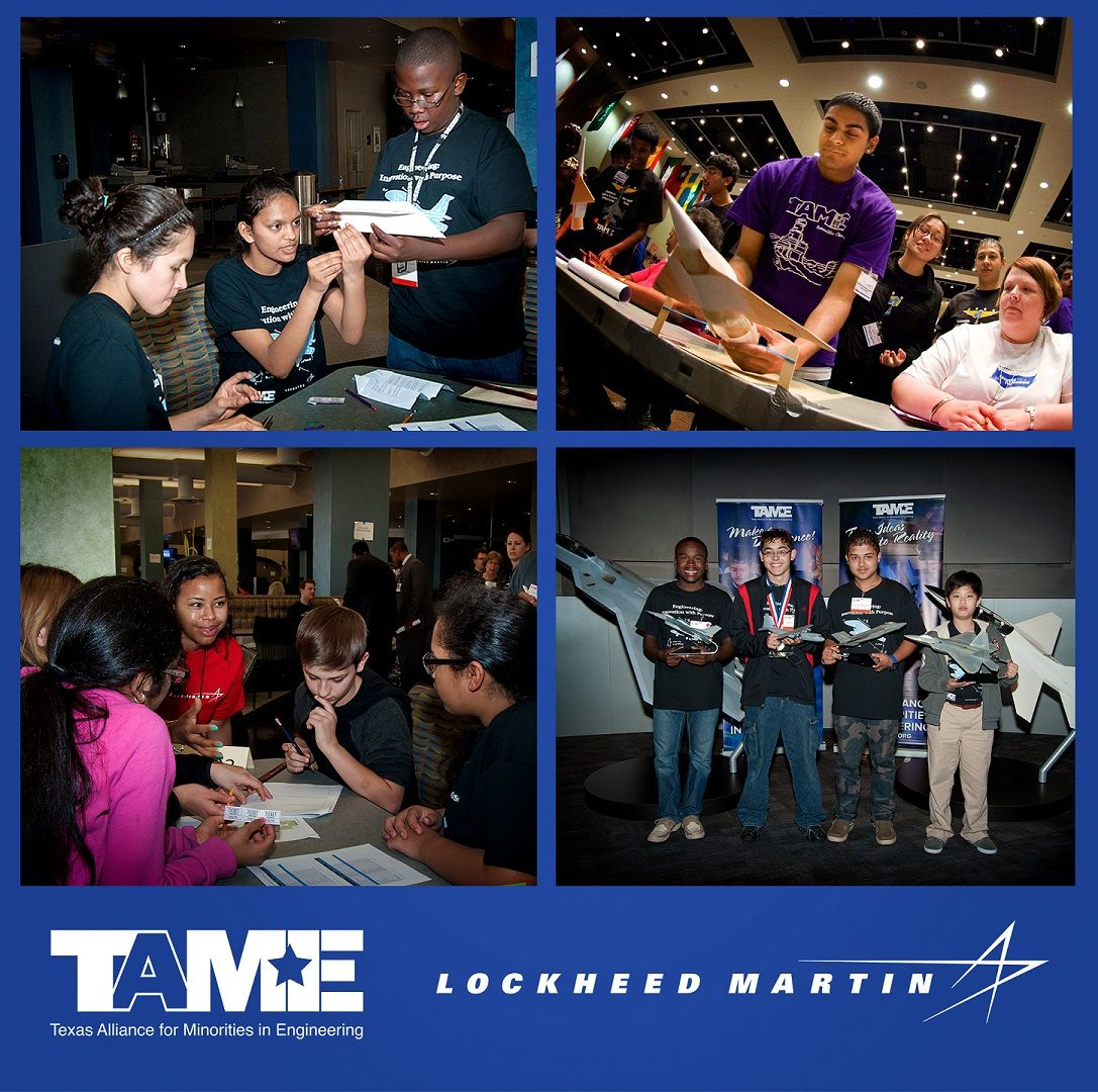 Lockheed Martin Aeronautics Awards $50,000 to TAME