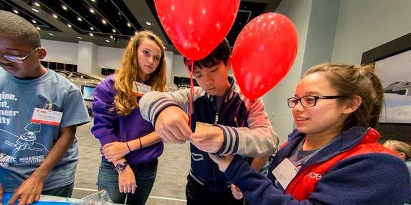 TAME Students Compete in High Flying Engineering Design Challenge at Lockheed Martin Aeronautics During 2015 State Math and Science Competition