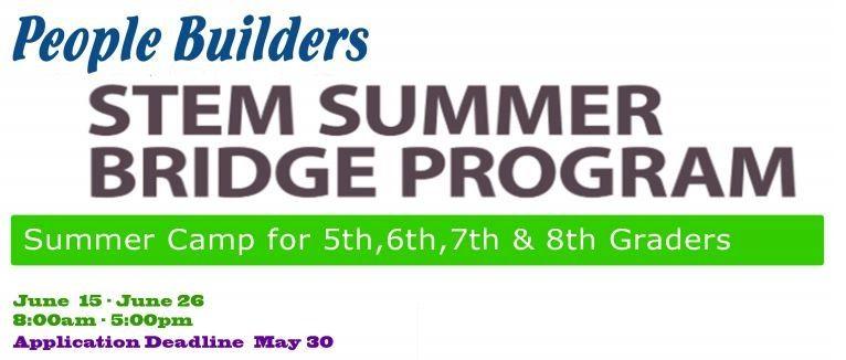People Builders Summer STEM Program in Midland Texas