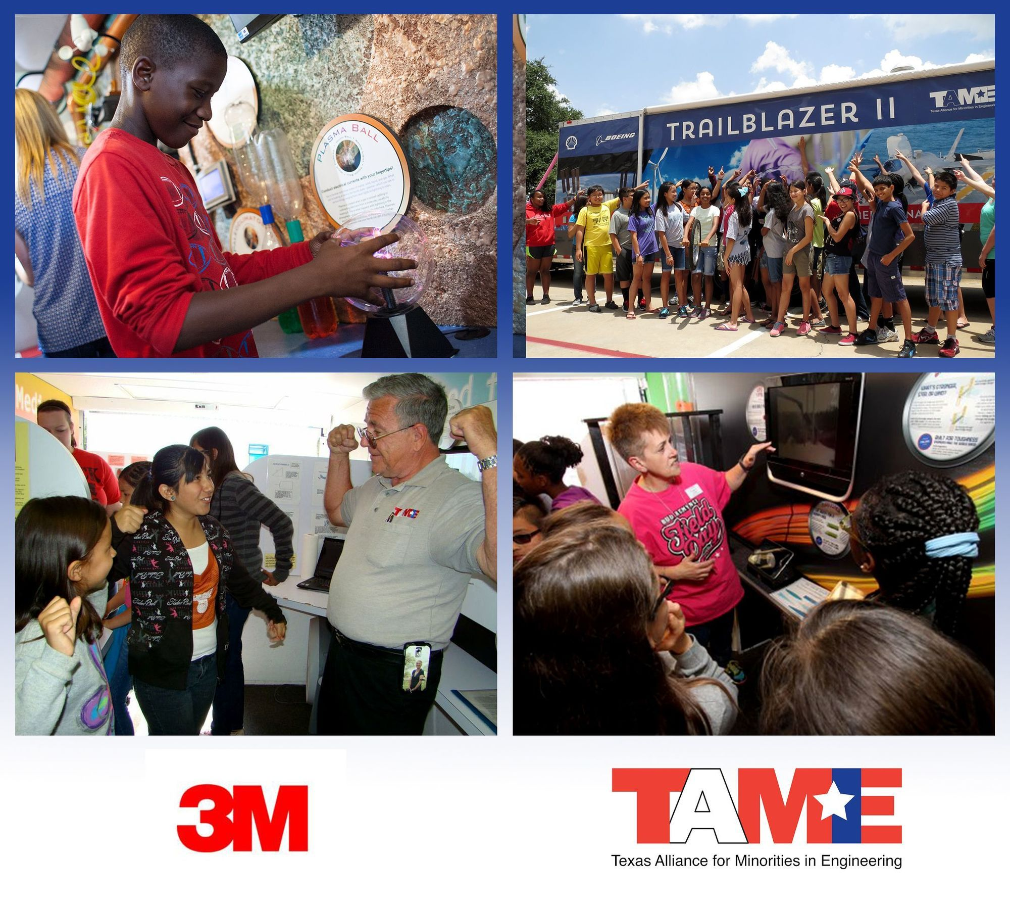 3M Awards $15,000 to TAME for Trailblazer Visits to Central Texas