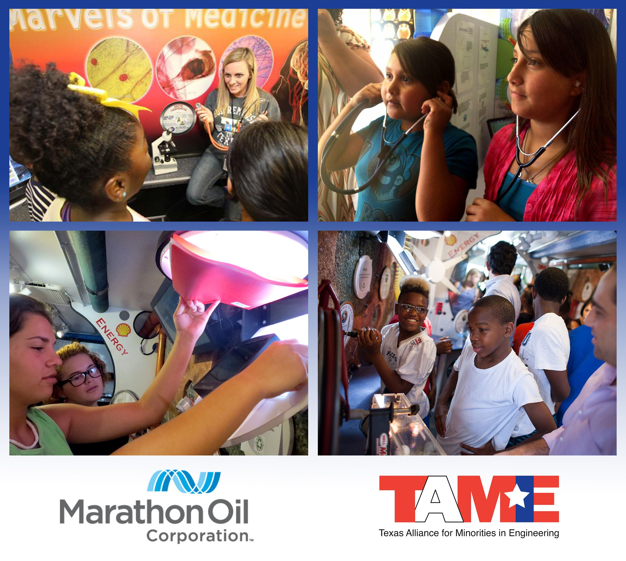 Marathon Oil Sponsors Trailblazer Museum Visits to Eagle Ford Shale Communities
