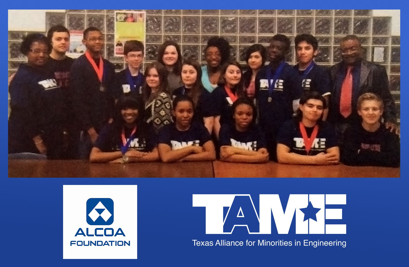 Alcoa Awards $15,000 to empower Wichita Falls students to pursue careers in science, technology, engineering and math!