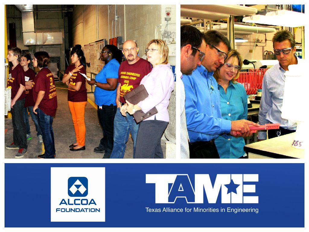 Stepping Up For STEM in Wichita Falls: Marcie Williford, Engineer at Alcoa Howmet and TAME Co-Chair