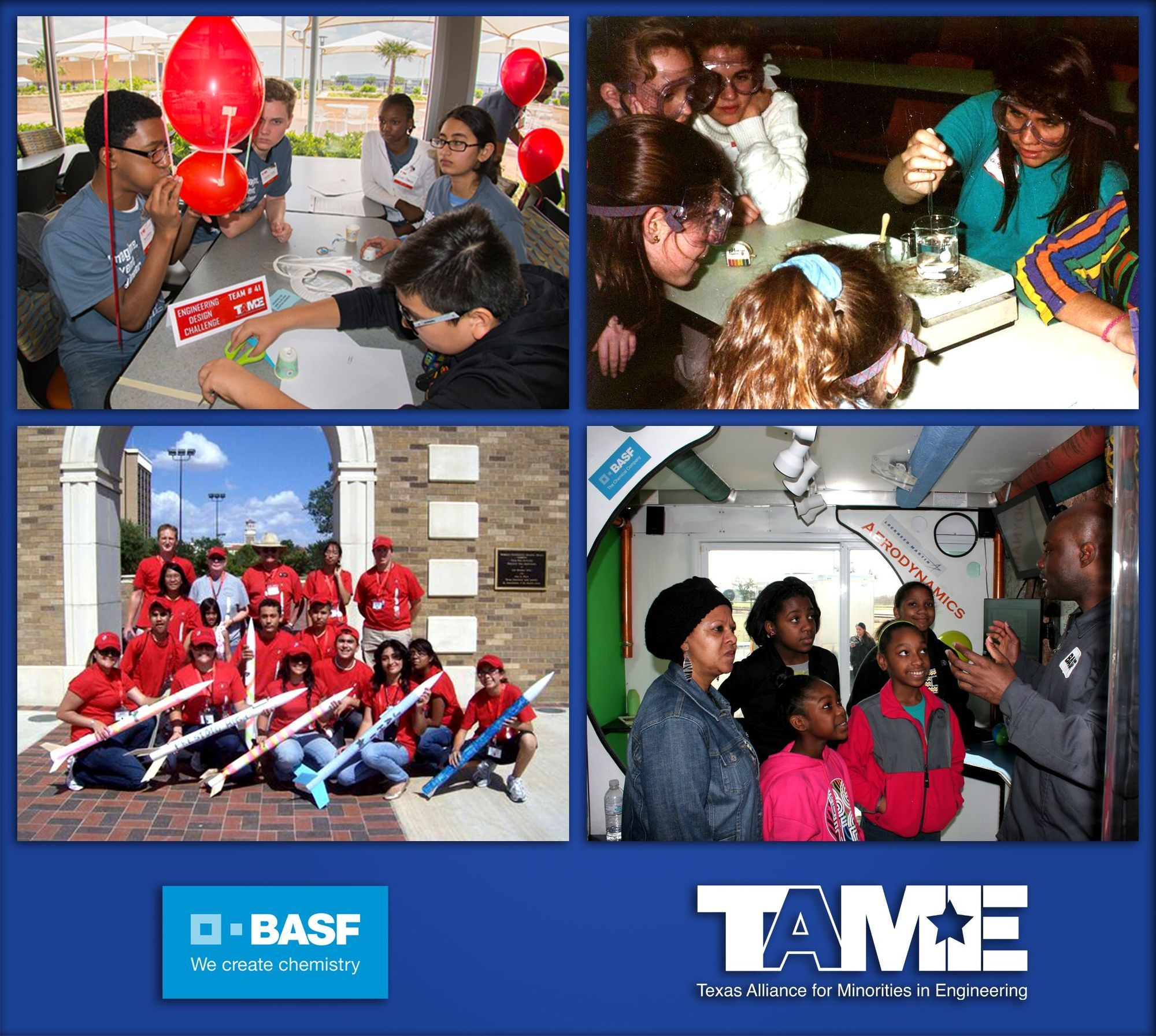 BASF Awards $25,000 to TAME to help students pursue careers in STEM