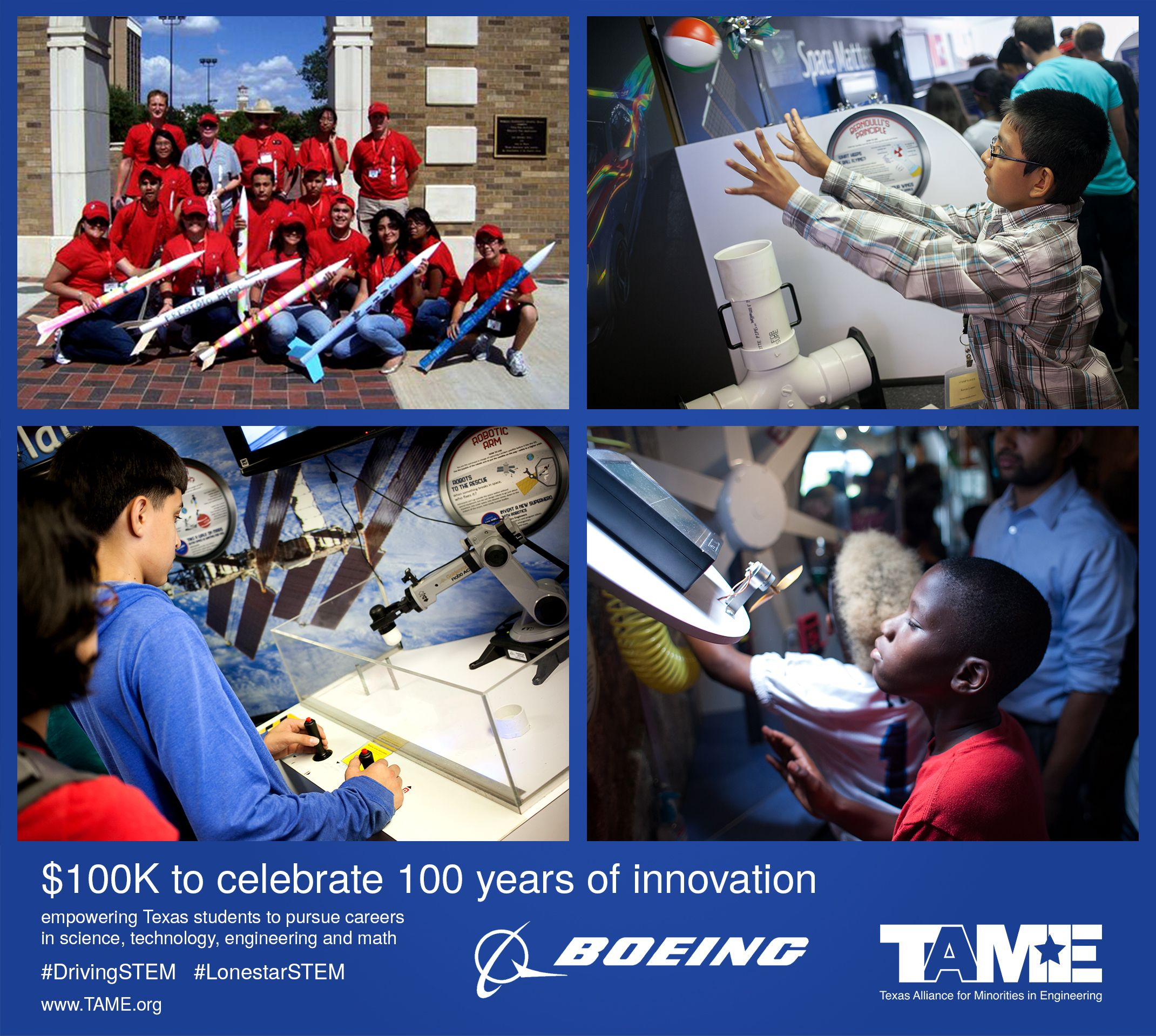 Boeing Awards $100K to Celebrate 100 Years of Innovation