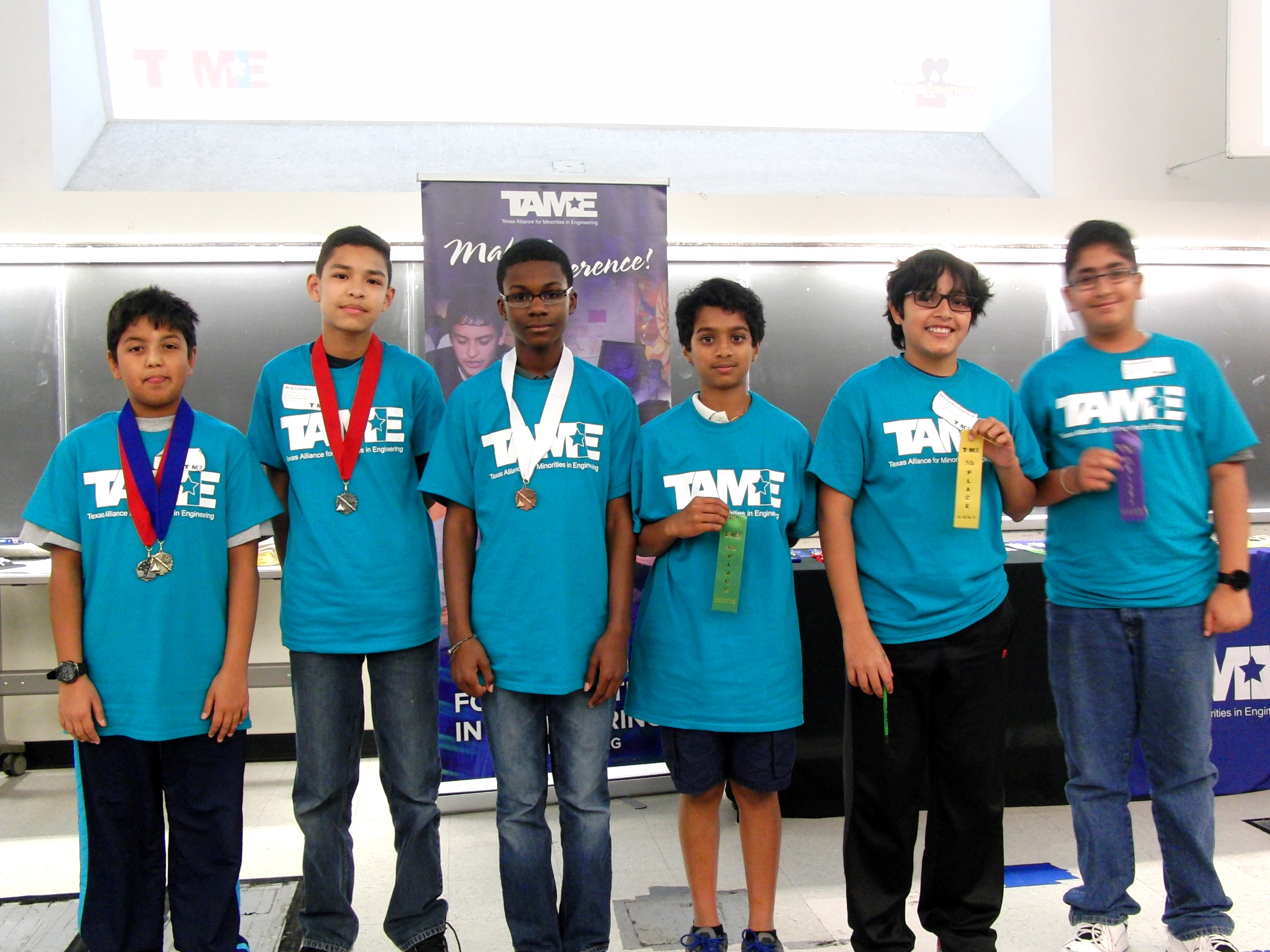 The 2016 TAME Capital Area STEM Competition was hosted by the African American Youth Harvest Foundation at the University of Texas at Austin on Saturday February 20, 2016.