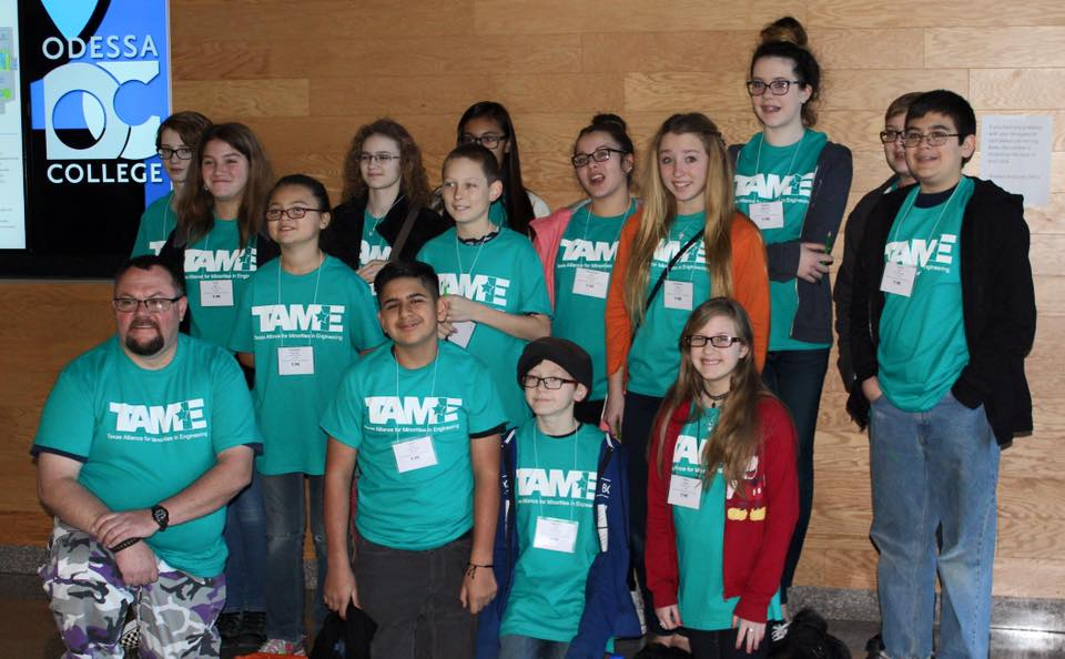 The 2016 TAME West Texas STEM Competition was hosted by Odessa College on February 6, 2016. The event, held free of cost to participants, brought together nearly 100 student competitors (grades 6-12) from across the region.