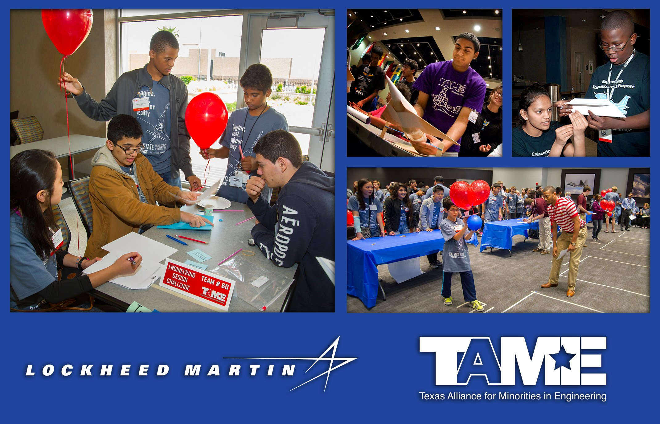 The Texas Alliance for Minorities in Engineering (TAME) is proud to announce that partner Lockheed Martin Aeronautics has generously awarded $30,000 to empower Texan students to pursue careers in science, technology, engineering and math. math, science, and engineering.