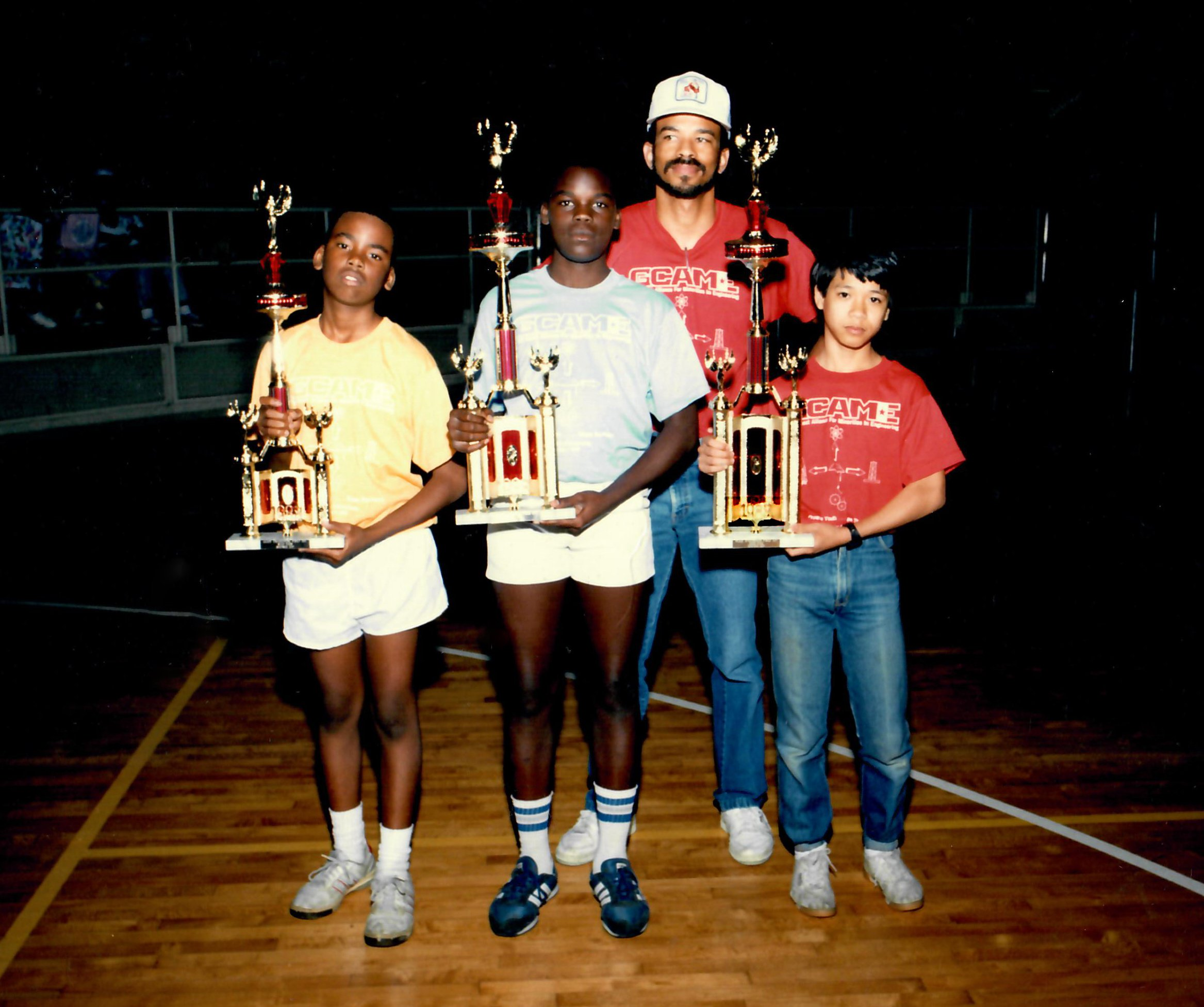 tame historical photo 34 gc tame competition 1988 trophies2