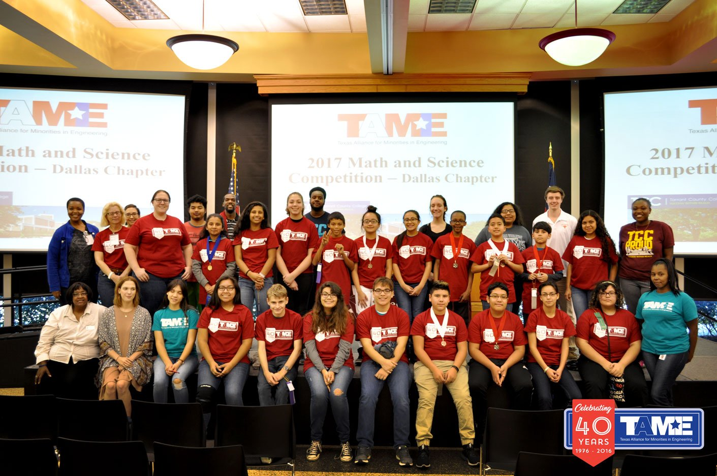 (Dallas, TX) – The 2017 TAME Dallas STEM Competition was hosted at Tarrant County College on Saturday February 11, 2017. The event, held free of cost to participants, brought together over 80 student competitors (grades 6-12) from across the region.