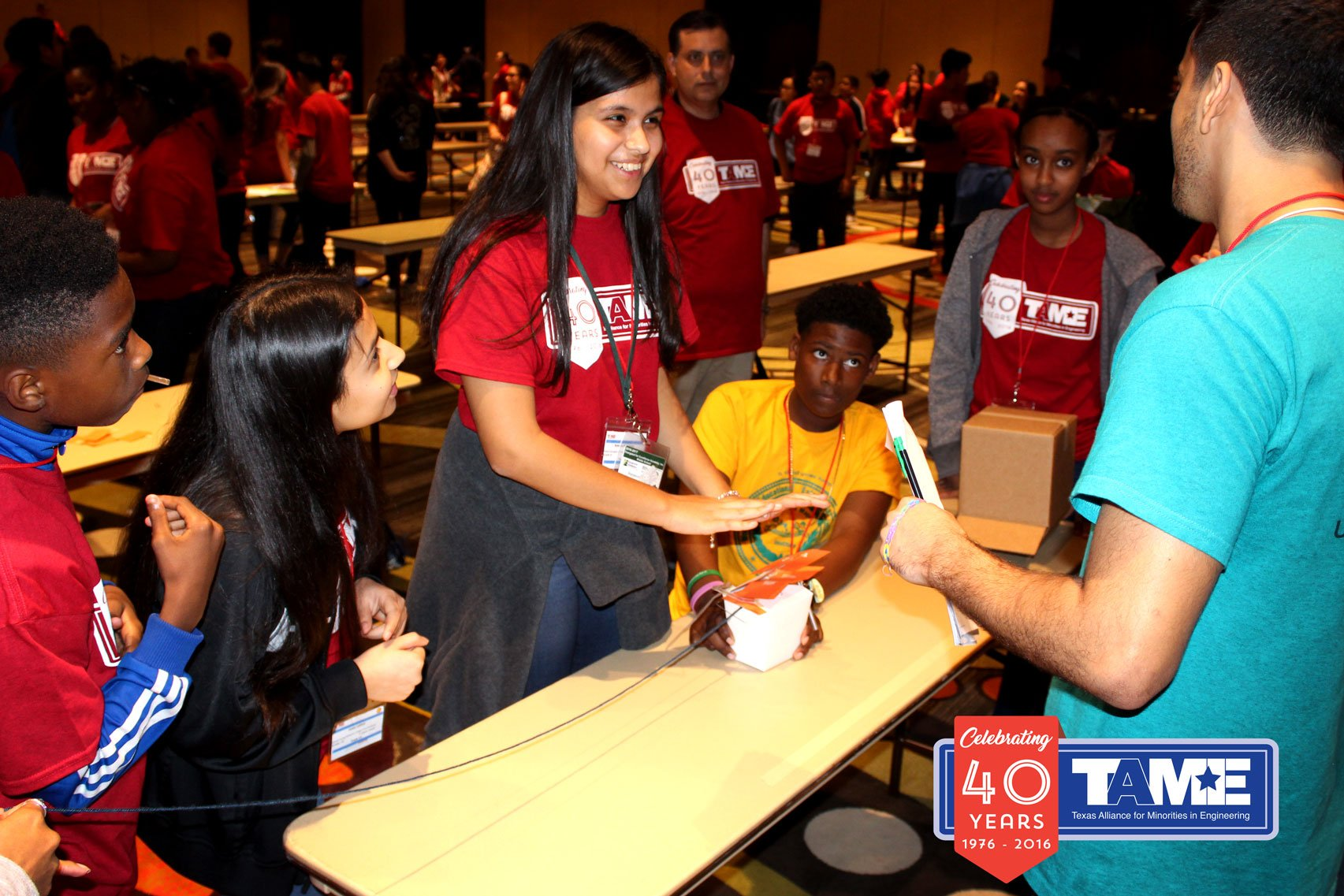 (Houston, TX) – The 2017 TAME Gulf Coast STEM Competition was hosted at The University of Houston on Saturday February 11, 2017. The event, held free of cost to participants, brought together over 130 student competitors (grades 6-12) from across the region.