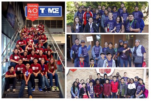 Photos of students from the 2017 STEM Competition Season.